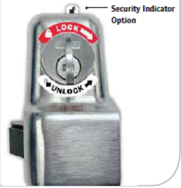 lockset type-b push-bar lock