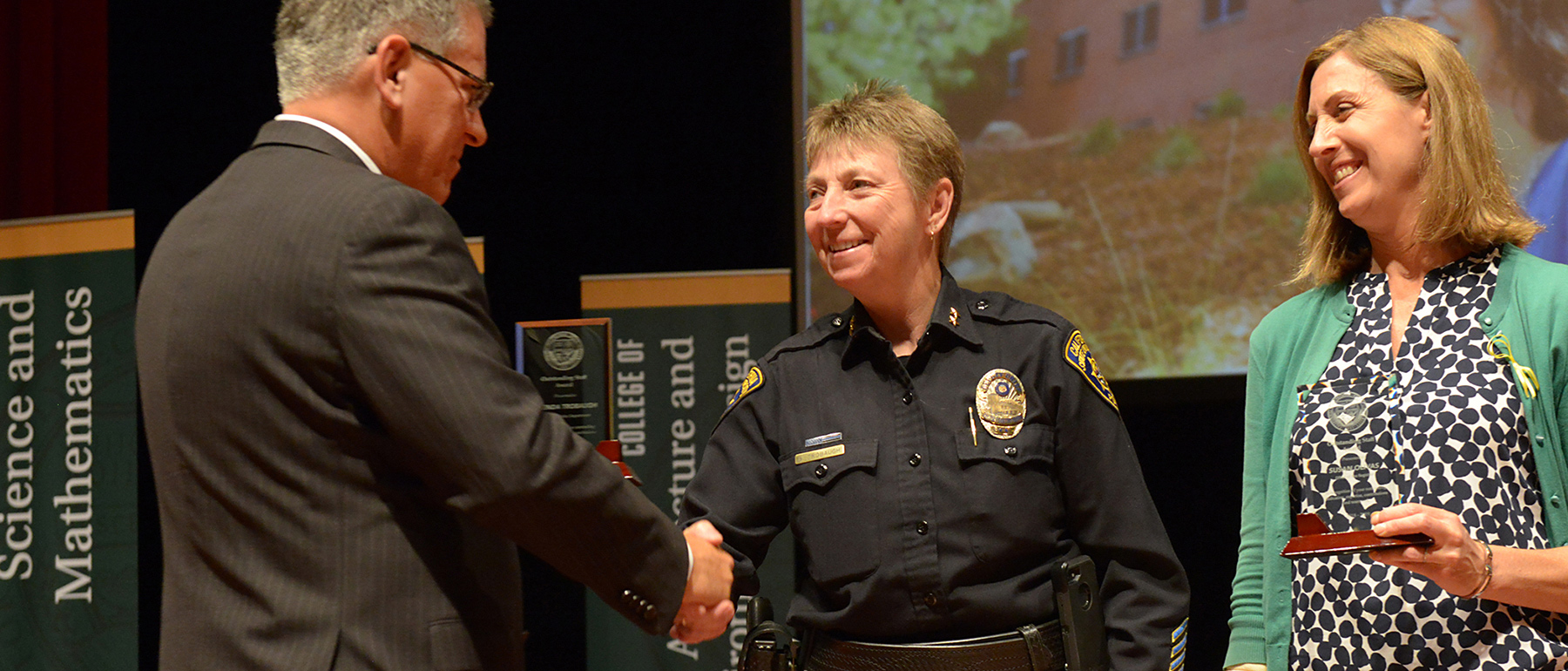 Deputy Chief photo recieving award