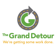 The Grand Detour, We're getting some work done.