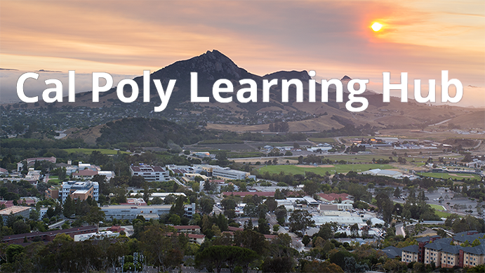 Cal Poly Learning Hub