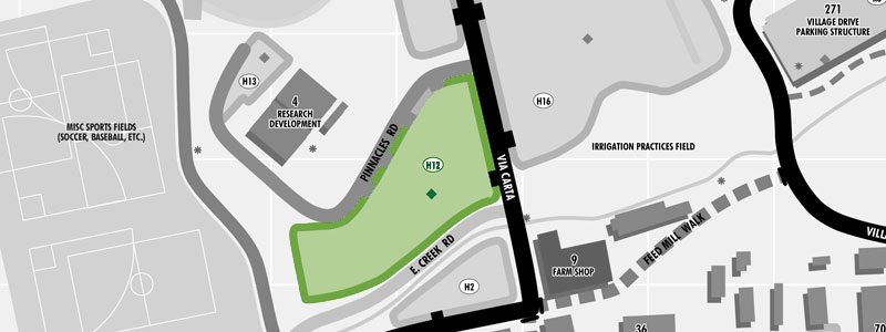 parking Lot H12 map