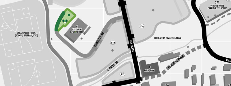 parking Lot H13 map