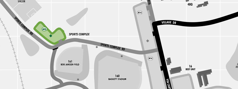 parking Lot Sports Complex map