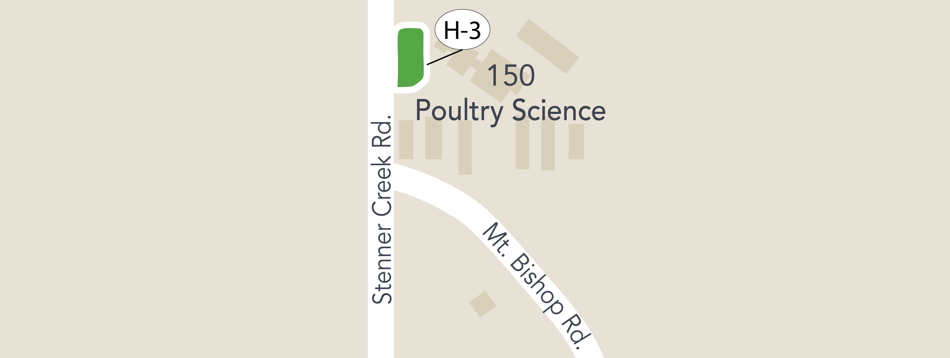 parking Lot Poultry map