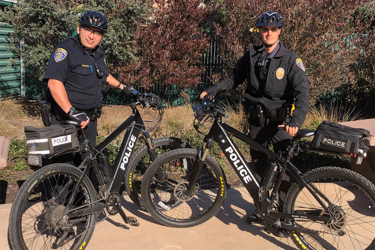University Police Bicycle Patrol Images